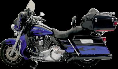 Bassani Xhaust - Road Rage II Mega Power Systems - MUFFLR PSDO MEG 09-14 BL