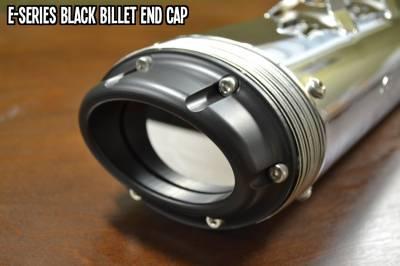 Fuel Moto - Fuel Moto E-Series Black Billet End Cap