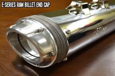 Fuel Moto - Fuel Moto E-Series Raw Billet End Cap