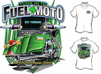 Fuel Moto - Fuel Moto T-Shirt -SizeS