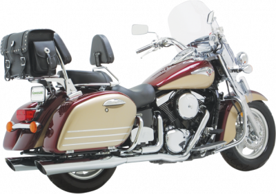 Vance & Hines - Vance & Hines - Bagger Slash-Cut Dual Exhaust Systems