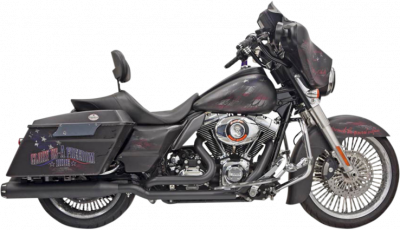 Bassani Xhaust - Bassani Xhaust - True-Dual Down Under Headpipes