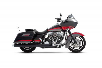 Rinehart - Rinehart - Touring 2-into-1 System Black with Chrome End Cap