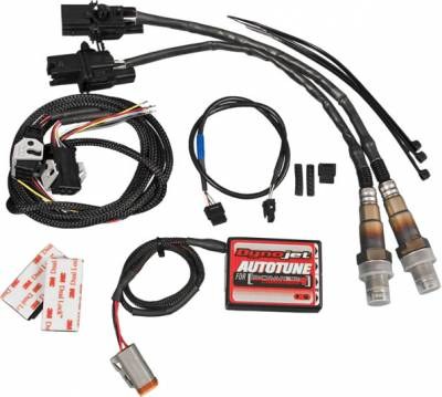 Dynojet - Auto Tune Kit For Power Commander V with O2 sensor bungs -Harley CAN Bus Models