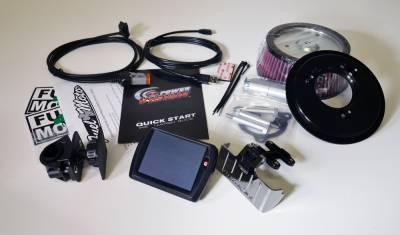Dynojet - Dynojet - Power Vision PV-1 Black + Pro Billet Air Cleaner Package (117-449)