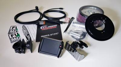 Dynojet - Dynojet - Power Vision PV-1 Chrome + Pro Billet Air Cleaner Package (117-449)