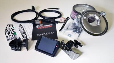 Dynojet - Dynojet - Power Vision PV-2 Black + Pro Billet Air Cleaner Package (117-442)
