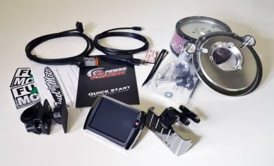 Dynojet - Dynojet - Power Vision PV-2 Chrome + Pro Billet Air Cleaner Package (117-442)