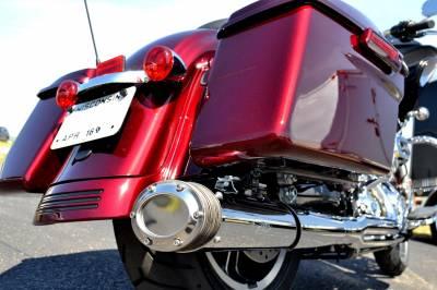 Fuel Moto - Fuel Moto E-Series FLH 2-into-1 Chrome Full System