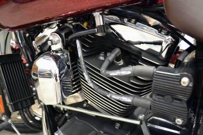 Fuel Moto - Fuel Moto - RaceWire Black Spark Plug Wire for 1999-2015 HD Dyna Models