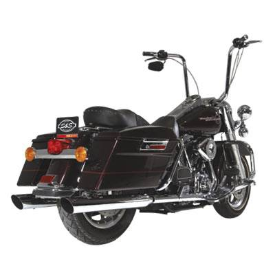 S&S Cycle - S&S Slash Down Quiet-Tour Mufflers