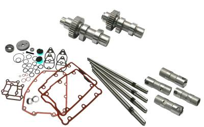 S&S Cycle - S&S Cycle 510 Standard Gear Drive Camshafts with Fuel Moto Complete Install Kit