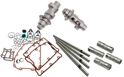 S&S Cycle - S&S Cycle 551 Easy Start Chain Drive Camshafts with Fuel Moto Complete Install Kit