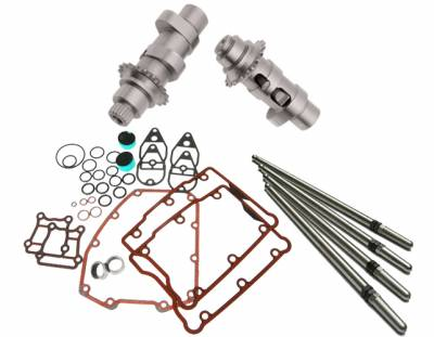 S&S Cycle - S&S Cycle 557 Easy Start Chain Drive Camshafts with Fuel Moto Install Kit