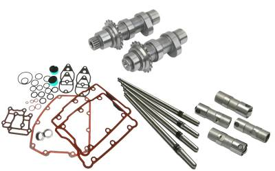 S&S Cycle - S&S Cycle HP103StandardChain Drive Camshafts with Fuel Moto Complete Install Kit