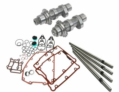 S&S Cycle - S&S Cycle HP103StandardChain Drive Camshafts with Fuel Moto Install Kit
