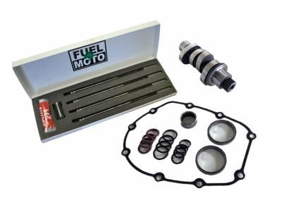 Wood Performance - Wood Performance WM8-222 Chain Drive Camshaft with Pushrods & Kit
