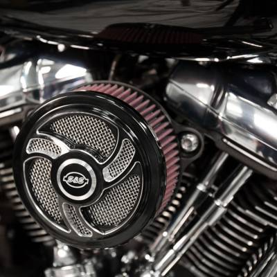 S&S Cycle - S&S Stealth Air Cleaner - H-D® M8 Models with Torker Cover