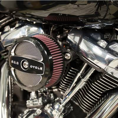 S&S Cycle - S&S Stealth Air Cleaner - H-D® M8 Models with Air 1 Cover