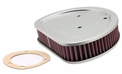 "K & N - High-Flow Replacement Air Filter - AIR FIL 88"" TWIN CAM"