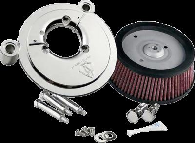 Arlen Ness - Big Sucker Performance Air Filter Kits - BIG SUCKR STG108-13FL CHR