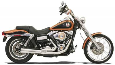 Bassani Xhaust - Bassani XhaustRoad Rage 2 into 1 Systems - EXHAUST 2-1 S 91-05FXD CH