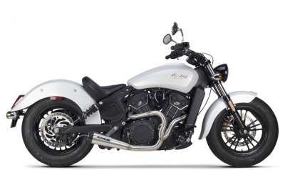 Two Brothers - Two Brothers Comp S 2-into-1 Exhaust Indian Scout