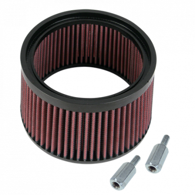 """S&S Cycle - 1"""" taller Hi Flow element for Fuel Moto AC/DC & S&S Stealth air cleaners"""