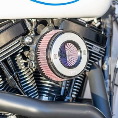 S&S Cycle - S&S Stealth Air Stinger air cleaner - H-D® Twin Cam - Cable Operated