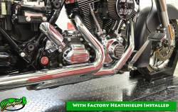 Jackpot - Jackpot 2/1/2 Stainless Steel Ceramic Coated Tri Glide Head Pipe - Image 2