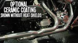 Jackpot - Jackpot 2/1/2 Stainless Steel Ceramic Coated Tri Glide Head Pipe - Image 1