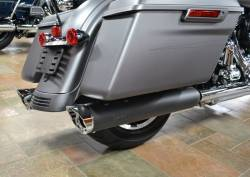 Jackpot - Jackpot Hi Roller Slip On Mufflers - Black with Chrome Slash End Caps Twin Cam - Image 3