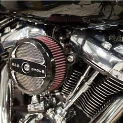 S&S Cycle - S&S Stealth Air Cleaner - H-D® M8 Models with Air 1 Cover - Image 1