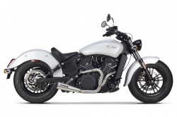 Two Brothers - Two Brothers Comp S 2-into-1 Exhaust Indian Scout - Image 1