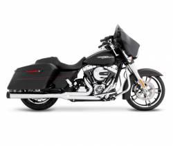 Rinehart - Rinehart - Touring 2-into-1 System Black with Chrome End Cap - Image 6