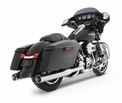 "Rinehart - Rinehart - Xtreme True Duals Black with Black End Caps (4"" Mufflers) - Image 13"