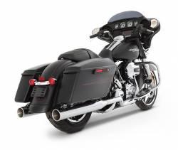 "Rinehart - Rinehart - Xtreme True Duals Black with Chrome End Caps (3.5"" Mufflers) - Image 13"