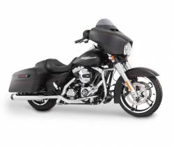 "Rinehart - Rinehart - Xtreme True Duals Black with Chrome End Caps (4"" Mufflers) - Image 12"