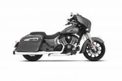 Rinehart - Rinehart Slimline Duals Header Kit Chrome For Indian Motorcycles - Image 1