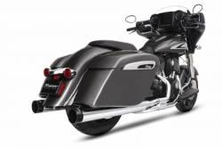 Rinehart - Rinehart Slimline Duals Header Kit Chrome For Indian Motorcycles - Image 2