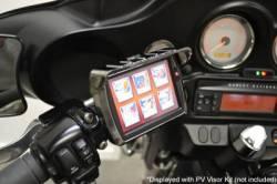 Fuel Moto - Fuel Moto Articulating Black Handlebar Mount and Power Vision Visor - Image 1