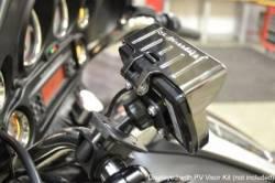Fuel Moto - Fuel Moto Articulating Black Handlebar Mount and Power Vision Visor - Image 2